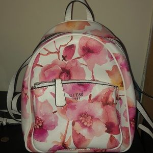 Floral guess mini backpack